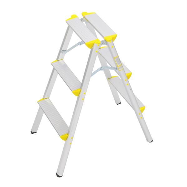 FCH 铝合金 3踏步日式 踏步梯 德国 黄色