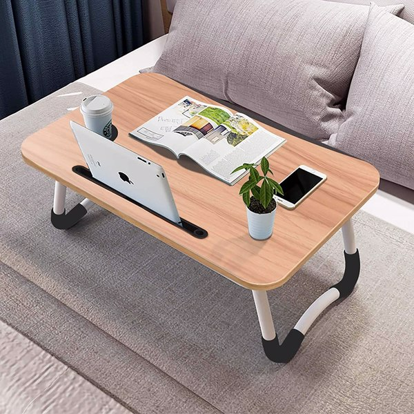 折叠早餐桌笔记本电脑桌支架床上桌户外餐桌