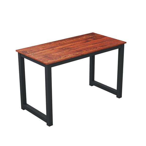 55英寸简约风格电脑桌学习桌,檀香木(亚马逊禁售)
