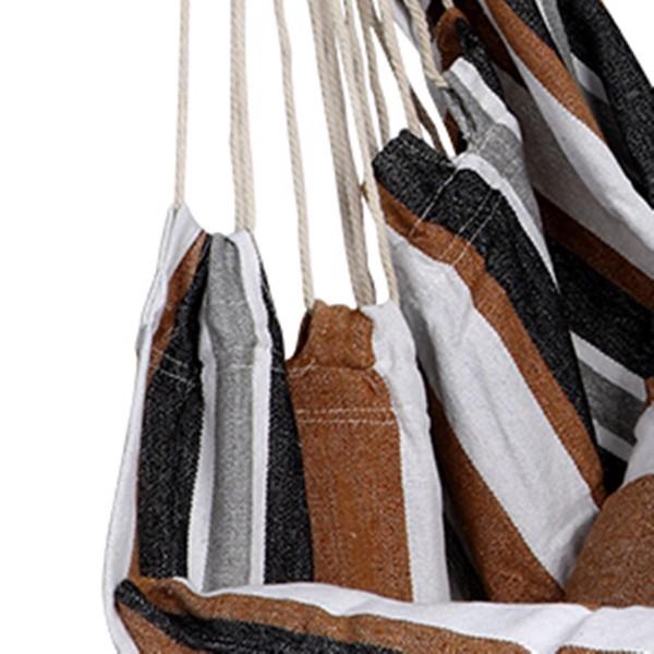 庭院悬挂抱枕吊椅-咖色