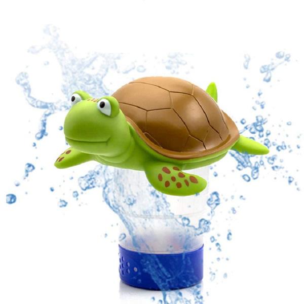 9 英寸可折叠 海龟形游泳池氯分配器(亚马逊/沃尔玛禁售)