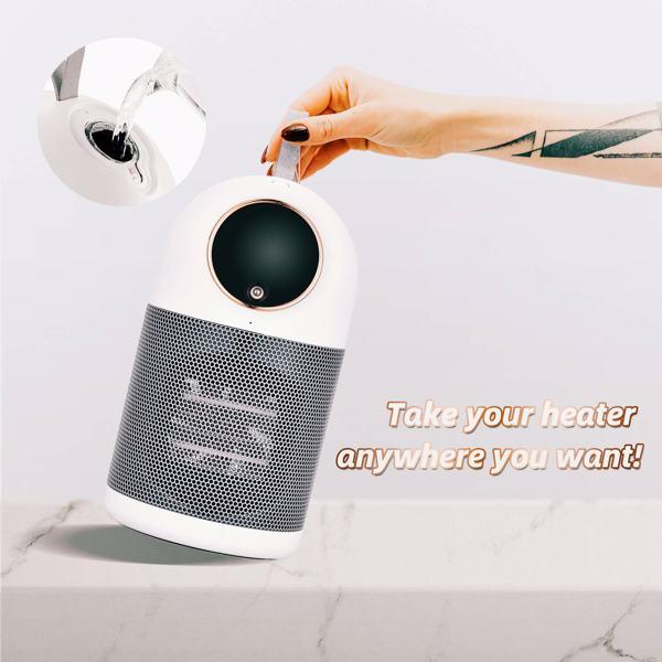 取暖器便携式迷你取暖机带加湿器提示过热保护安全安静